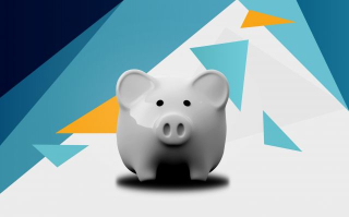 S_Piggy_Bank_-_Abstract_Background