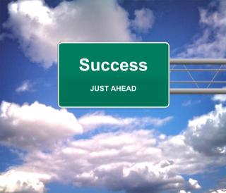 S_Success_Just_Ahead_roadsign_-_Success_concept